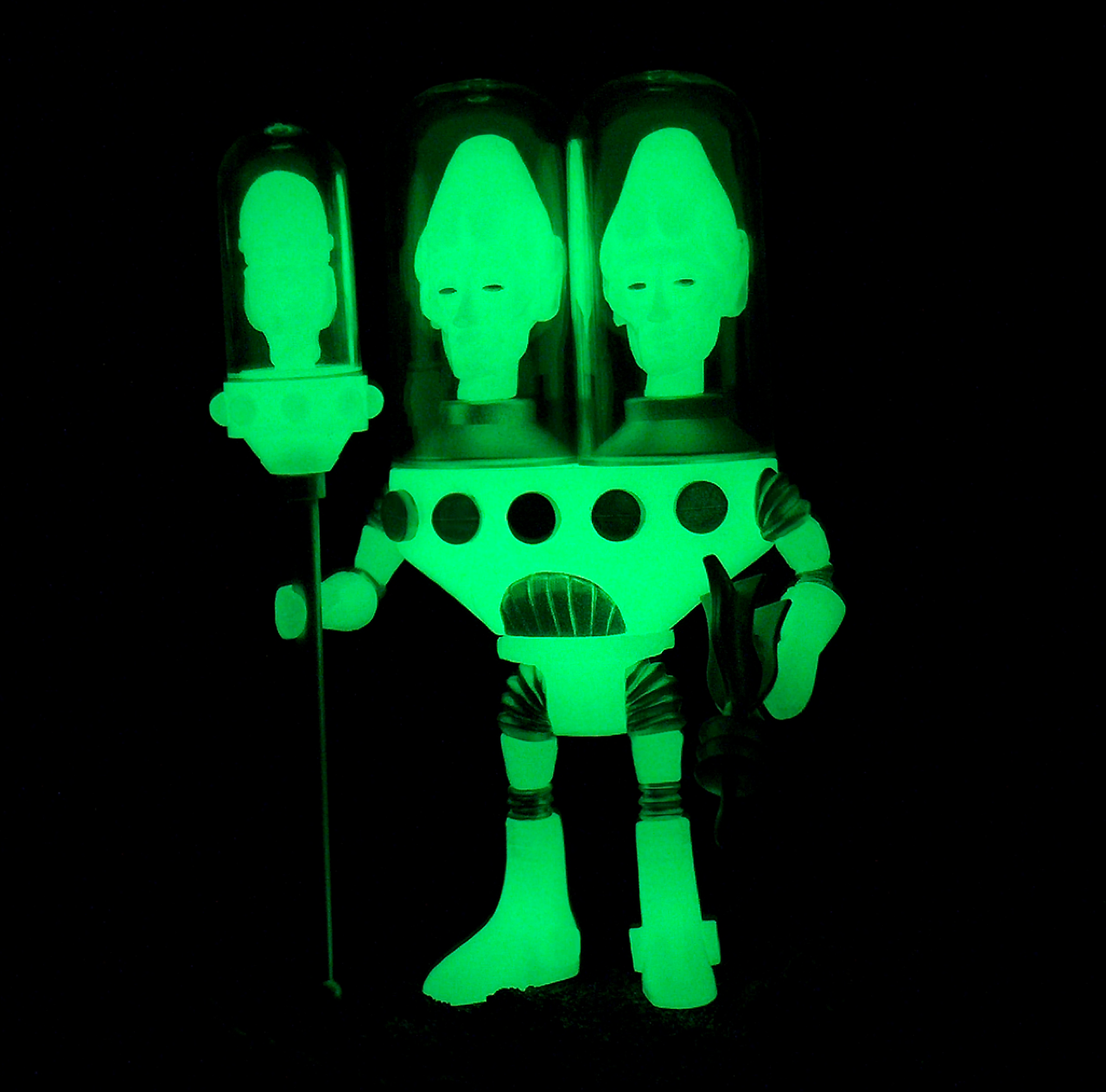 COLORFORMS OUTER SPACE MEN NEW 2018 JACK ASTEROID COSMIC RADIATION GLOW IN DARK