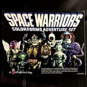 SPACE WARRIORS PLAYSET