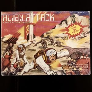 ALIEN ATTACK PLAYSET