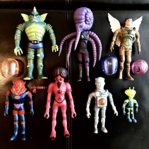 INDIVIDUAL VINTAGE 1968 OUTER SPACE MEN FIGURES