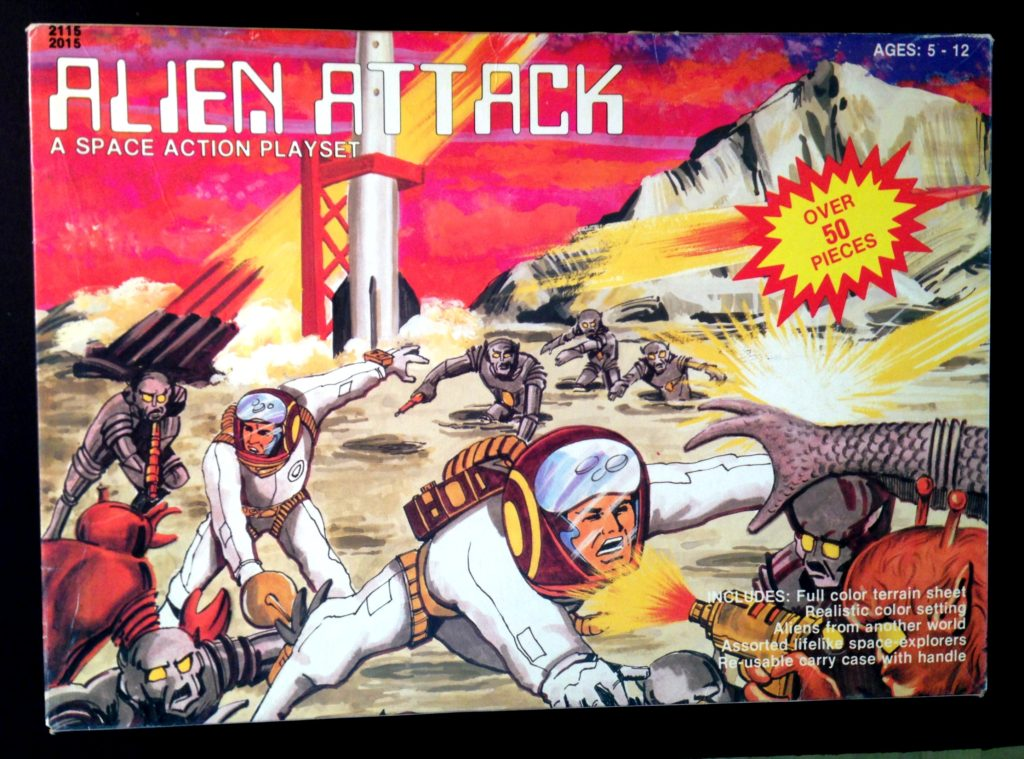 Space Alien Attack a