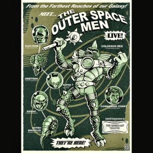 COLOSSUS REX COSMIC RADIATION POSTER